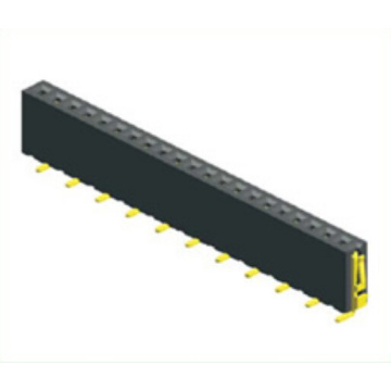 2.54mm Female Header Single Row SMT Type H: 7.1