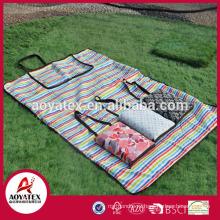 Конкурентоспособная цена изготовленный на заказ водоустойчивый складной для пикника кемпинг коврик