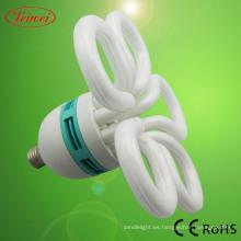 Flor del ciruelo en forma de lámpara ahorro de energía