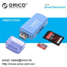 ORICO CTU-33 USB 3.0 SD / TF em um leitor de cartão 2 portas Leitor de cartão