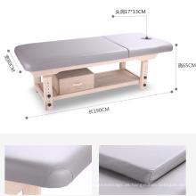 Mesa de masaje de madera ajustable Beauty Salon Salon