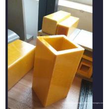 Formes carrées / tubes pultrudés en fibre de verre FRP