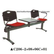 Chaise de réunion de chaise de loisirs de style nouveau avec table en bois