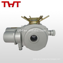 24V DC mini electric actuator for butterfly valve