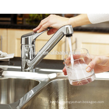 Contemporary Sanitary Ware Long Neck Basin Mixer Taps