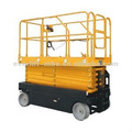 Full electric work platform scissor working platform lift table sel-propelled lifters with CE