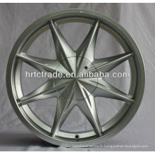 Argent 16 pouces en alliage d'aluminium avec roues de voiture