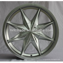 Silver 16 inch hot Aluminum Alloy Car wheels rims
