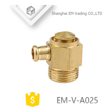 EM-V-A025 Brass Air Vent Valve for Heating System