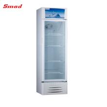 316L Supermarket Pepsi Glass Display Showcase Refrigerator For Australia Market