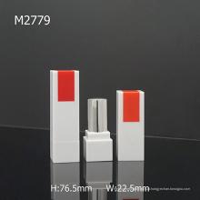 Simple Square Empty Atacado Fancy Lipstick Tube