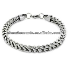 Hot Sale Stainless Steel Bracelet Mens Franco Box Chain Bracelet Manufacturer