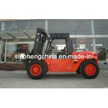 Fábrica de carretilla elevadora diesel de 10 toneladas China Sh100