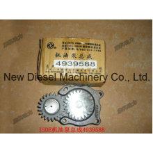 Isde Bomba de aceite lubricante de motor diesel 4939588 Bomba de lubricación de combustible