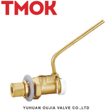 brass pneumatic water tank vehicle float valve