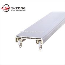 Plafond double rail de rideau