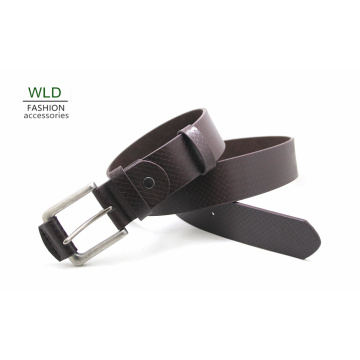 Fashion Basic Genuine Top Leather Men′s Belt Lky1190
