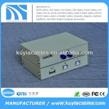 Manuel 2 ports USB 2.0 PC Scanneur / Imprimante partage de commutateur