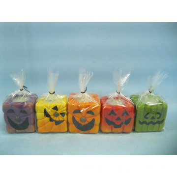Halloween Candle Shape Ceramic Crafts (LOE2372E-5z)
