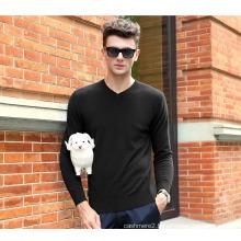 Men′s Cashmere Sweater with V Neck (13brdm001-5)