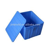 Moulage en plastique adapté aux besoins du client de caisse de moulage par injection de moule de boîte de chiffre d'affaires de vente chaude