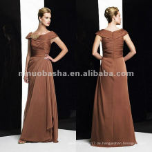 NY-1987 Tiffany Chiffon ein-linemother Kleid
