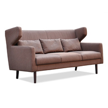 Sofá de madeira de madeira de design europeu de design famoso