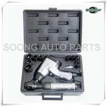 Kit de clé à cliquet et à impact pneumatique, kit d'outils pneumatiques, outil à main pour clé