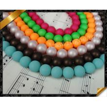 Bulk Venta al por mayor Moda Shell Perla Perlas para DIY Joyería Collar pendiente (GB0130)