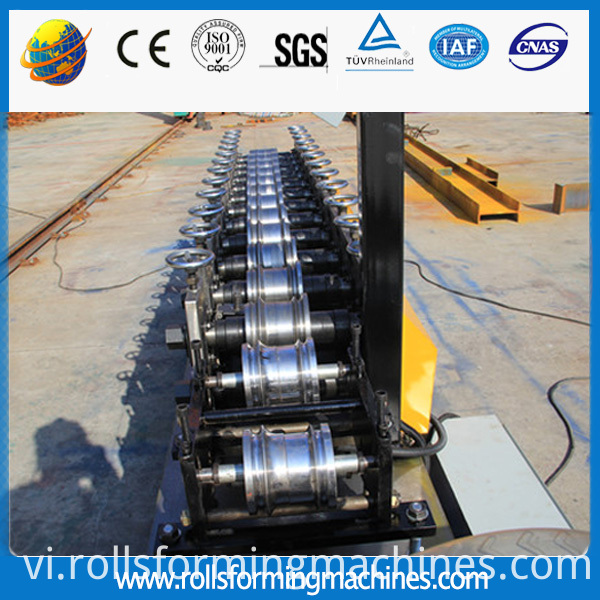 slat door steel forming machine