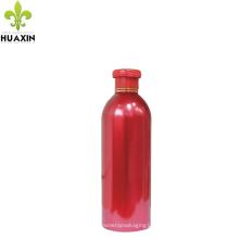 Botella plástica cosmética redonda de la loción de la botella del champú 500PE del HDPE 500ML