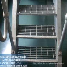 Verzinktem Stahl Bodensysteme durch Gitter