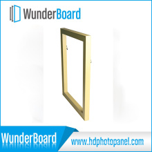 New Product PS Photo Frame for Wunderboard Sublimation HD Metal Prints