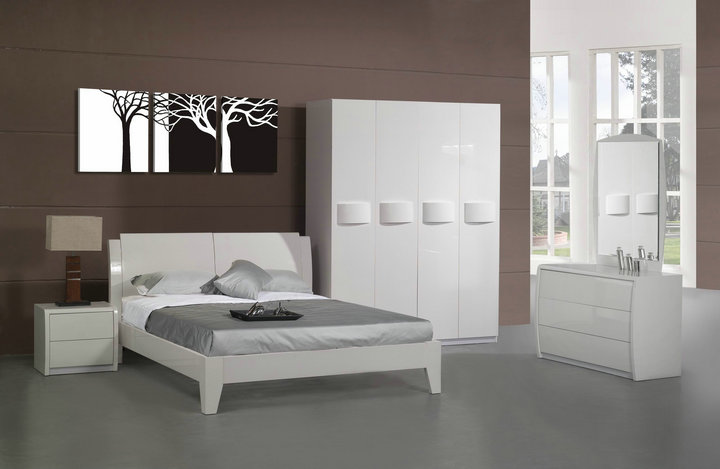 Panel bedroom furniture