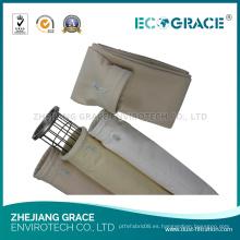 Colector de polvo bolsa de filtro acrílico