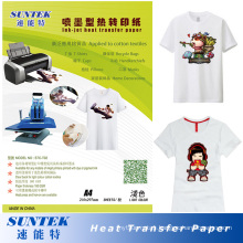 Light Color Heat Press Paper Suitable for Ink-Jet Printer