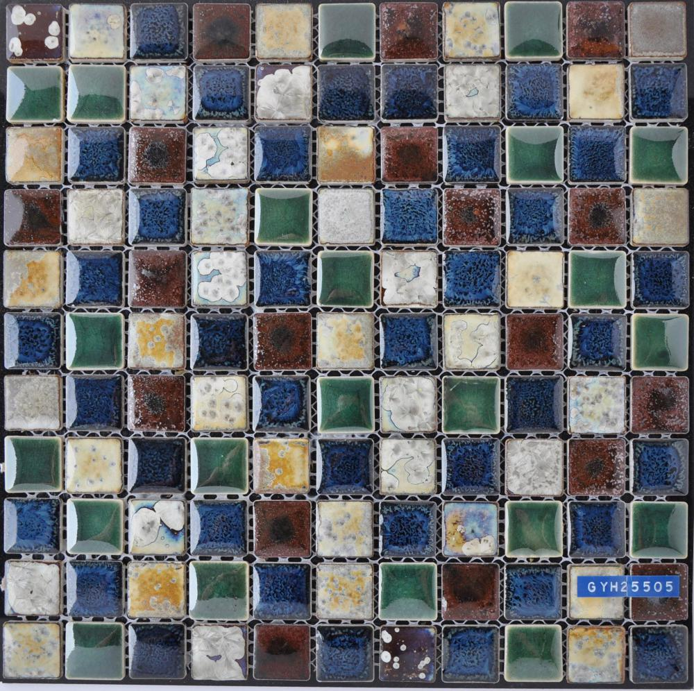 Colorful Glazed Ceramic Mosaic