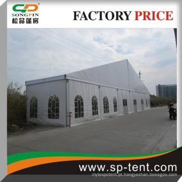 Grande armazém de barco 30x30m loja de armazenamento com porta de vidro