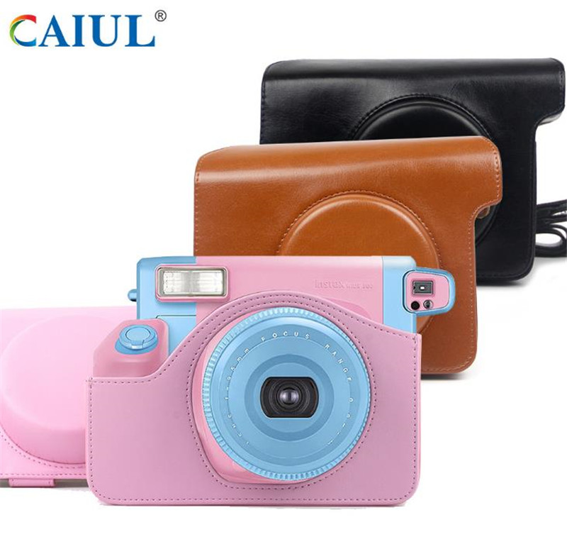 Solid Color Camera Bag