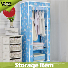 DIY Design Bedroom Furniture Simple Foldable Canvas Wardrobe