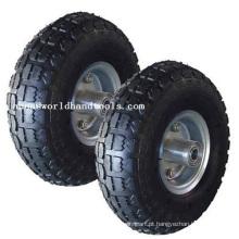 Tire 300-4 Steel Wheel 4 Ply 300 Tire para carrinho de mão