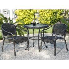 Открытый ротанга сада патио плетеная мебель столовые наборы