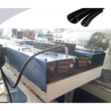 Plastik PP / PE / PVC / EVA einzelnes Wand-gewölbtes Rohr, das Maschine herstellt