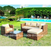 Sofá caliente del jardín de la venta para 2016 mimbre / muebles al aire libre de la rota