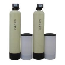 Système d'adoucisseur d'eau à deux soupapes à double soupapes de 6000 litres / heure