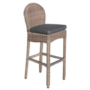 Garten Rattan Peddigrohr Outdoor-Möbel-Set Bar Stuhl Hocker