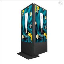 LCD-Werbespieler Android Digital Signage Kiosk doppelseitige Indoor-Digital Signage-Anzeige