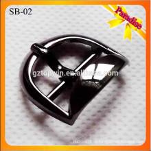 SB02 Dekorative Schuhzubehör Metall Schuhe Schnalle mit schwarzer Farbe