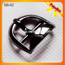 SB02 Decorative shoe accessories metal shoes buckle with black color