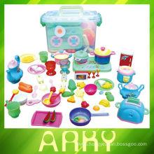 Mini Kitchen Cook Set Toy Kids Play Pretend Kitchen Set